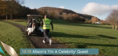 Alison Hammond chased on This Morning