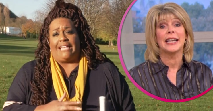 Alison Hammond chased by security on This Morning