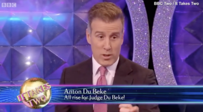 Anton du Beke on It Takes Two