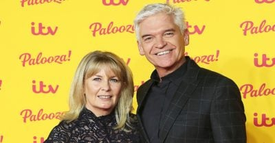 Phillip Schofield and wife Steph at the ITV Palooza