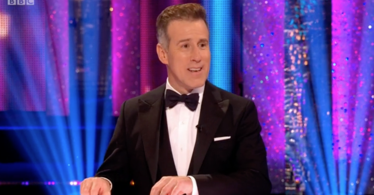 Anton judge Strictly