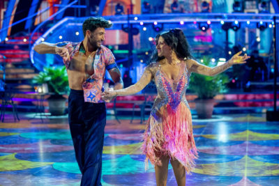 Strictly Come Dancing viewers couldn't help but notice the chemistry