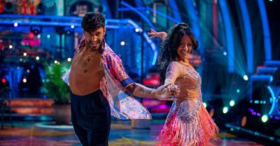 Strictly Come Dancing romance rumours are flying for Ranvir Singh and Giovanni Pernice