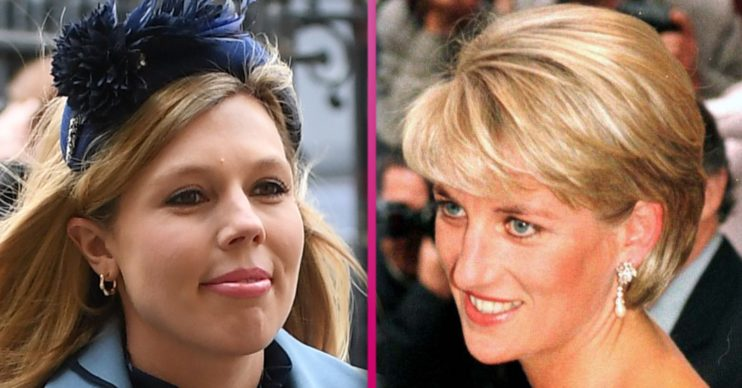 carrie symonds and princess diana