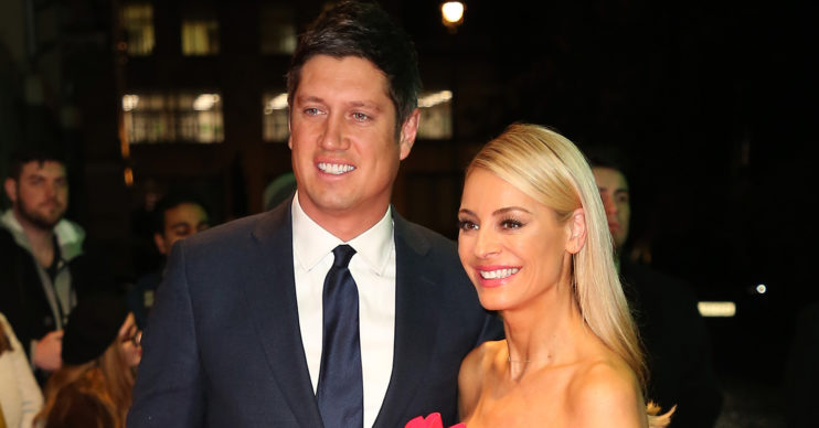 tess daly with vernon kay