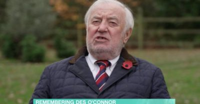Jimmy Tarbuck pays tribute to Des O'Connor