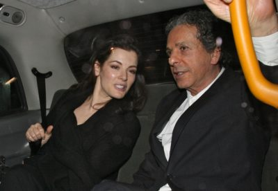 Nigella and Charles Saatchi in 2008