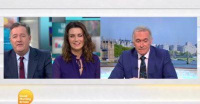 Piers Morgan, Susanna Reid and Dr Hilary Jones chat about gendered job titles