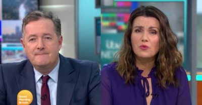 Piers Morgan and Susanna Reid debate job titles