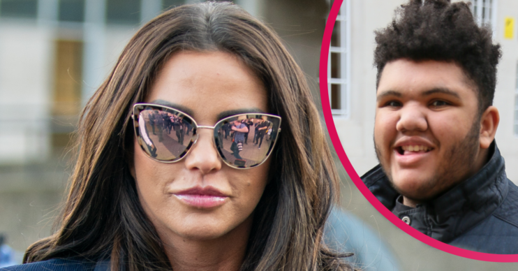 "Katie Price worried that eating will ""kill"" son Harvey"