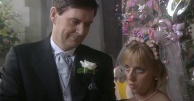 James Fleet and Emma Chambers share a scene