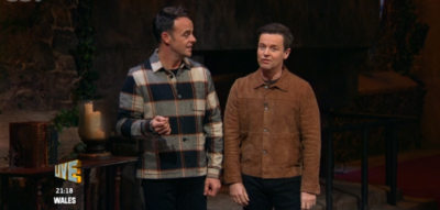 Ant and Dec on I'm A Celeb 2020
