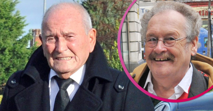 Tommy Cannon attends Bobby Ball funeral