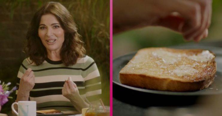 Nigella Lawson toast