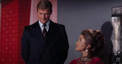 Roger Moore and Jane Seymour were in Live and Let Die together