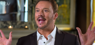 Russell Watson on I'm A Celebrity 2020