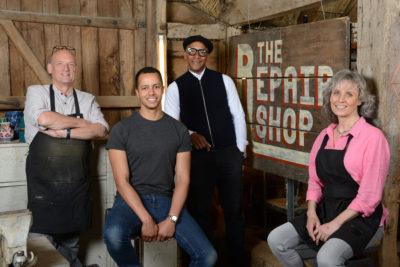 cast of The Repair shop
