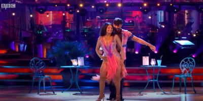 Ranvir Singh and Giovanni Pernice on Strictly
