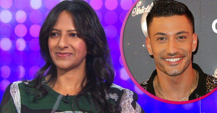 Strictly star Ranvir Singh and Giovanni Pernice