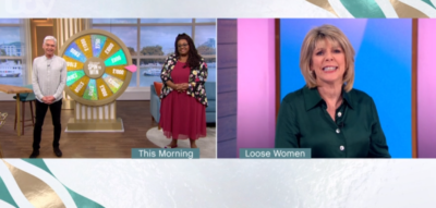Alison Hammond and Ruth Langsford on This Morning