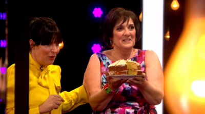 Judith and her cream cake