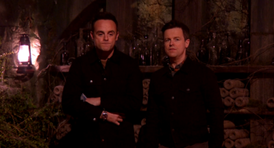 Ant and Dec on I'm A Celebritry