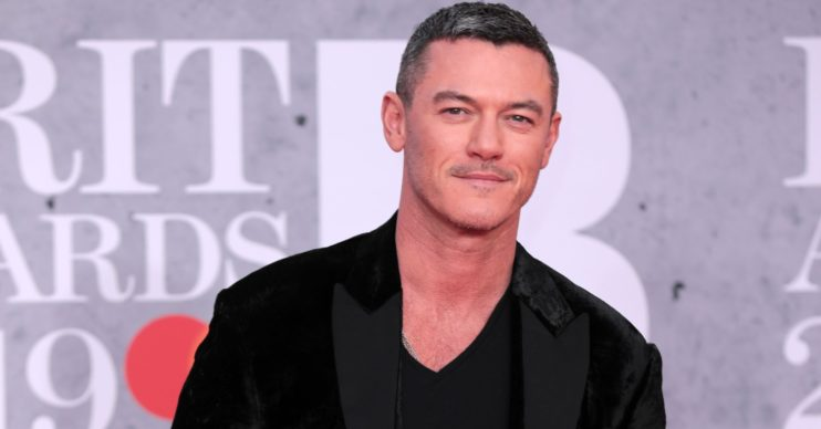 Luke Evans at Brit Awards 2019