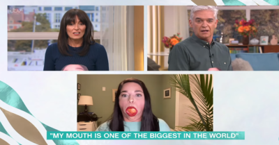 This Morning guest with biggest mouth