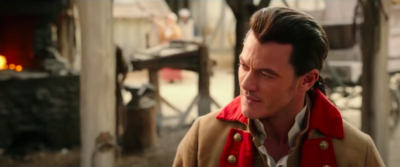 Luke Evans as Gaston in Beauty and the Beast