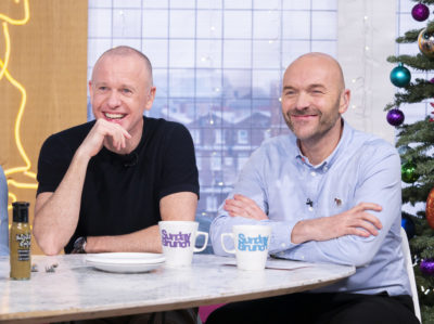 Tim and Simon on Sunday Brunch