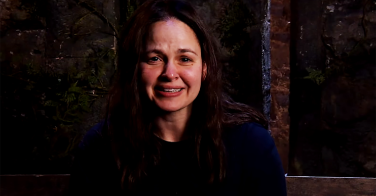 Giovanna Fletcher on I'm A Celebrity
