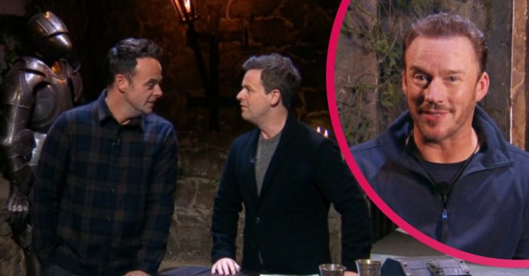 I'm A Celebrity's Ant and Dec and Russell Watson