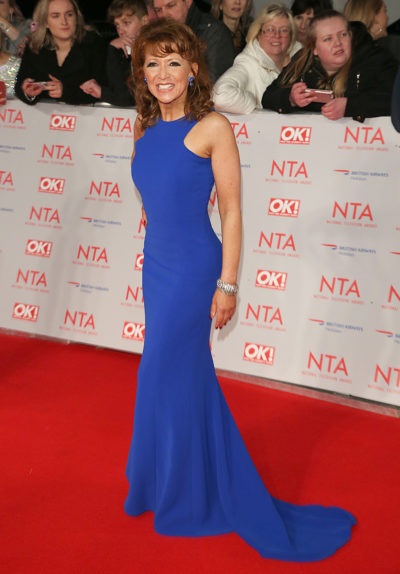 Bonnie Langford on the red carpet