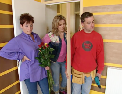 still from changing rooms with linda barker