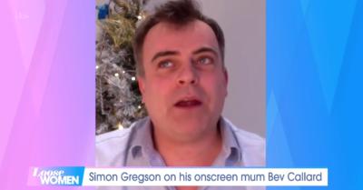 Simon Gregson on Loose Women