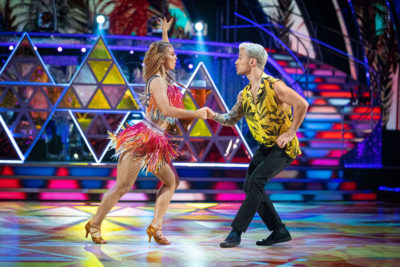 Maisie and Gorka Strictly week 5