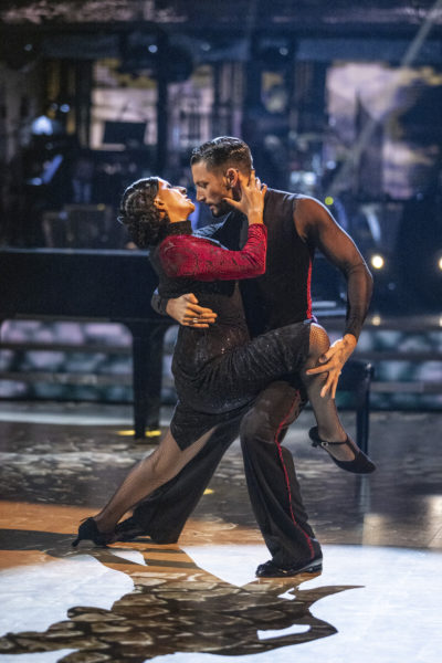 Ranvir Singh dancing on Strictly