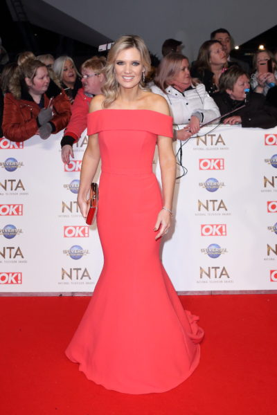 Charlotte hawkins on the red carpet