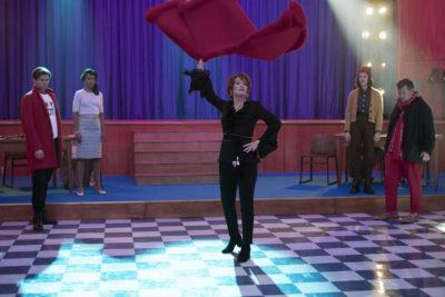 Meryl Streep as Dee Dee in The Prom on Netflix