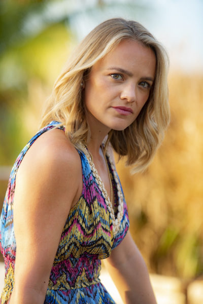 Laura Aitman as Cherry in Death in Paradise on BBC