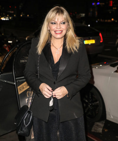 Kate thornton out for halloween