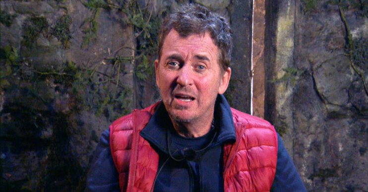 Shane on I'm a celeb