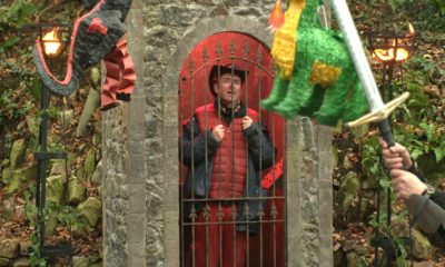 Shane in jail on I'm a celeb