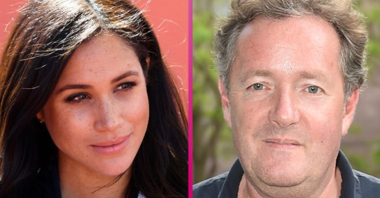 Meghan Markle and Piers Morgan (1)