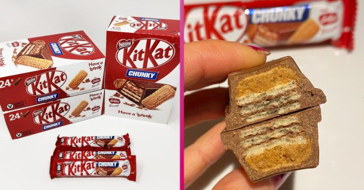 biscoff kitkat chunky
