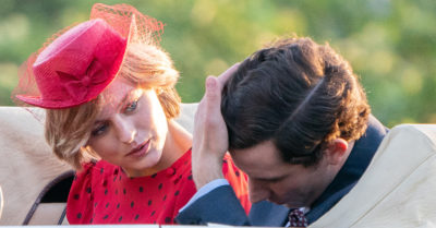 emma corrin and josh o'connor on the crown