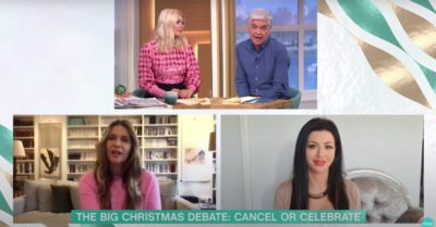 Holly Willoughby and Phillip Schofield host Christmas debate