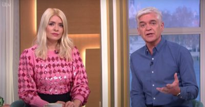 Holly Willoughby and Phillip Schofield discuss Christmas