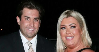 James Argent and Gemma Collins on a night out