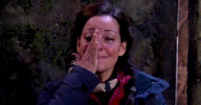 Ruthie Henshall cries